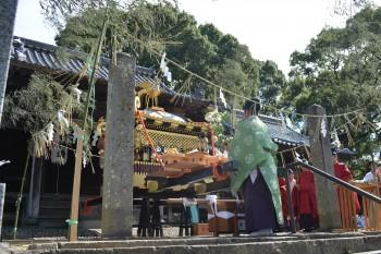 24高良下宮社神事