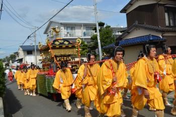 41高良内八幡神社へ